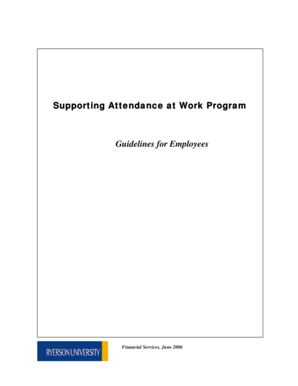 fillable online ryerson microsoft powerpoint supporting attendance