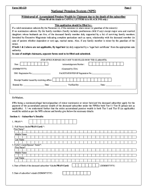 Submit sample authorization letter to claim death benefits ...