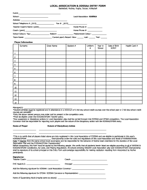 Eligibility Form - HC Today Home