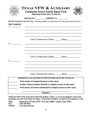 43031061 Vfw Membership Application Form Fillable on lions club membership, golf membership, vietnam veterans of america membership, nra membership,