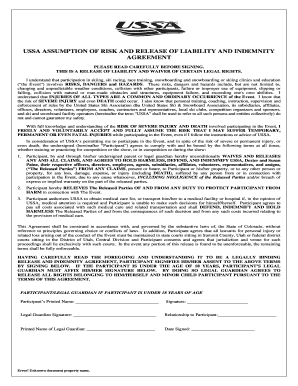 USSA Standard Form Liability Waiver.DOCX - ussa