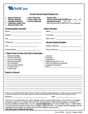 humana claim reconsideration form Templates - Fillable & Printable ...