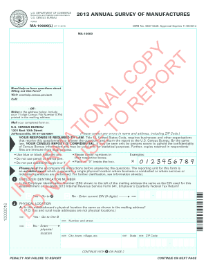 Form MA-10000(L) - Business Help Site - Census Bureau