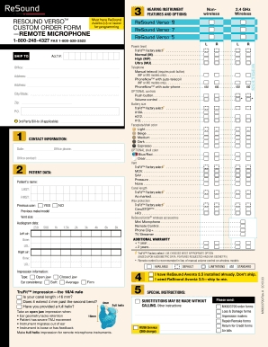 Order Form Templates - Fillable & Printable Samples for PDF, Word ...