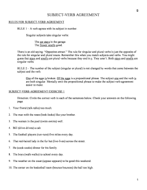 All Worksheets » Subject Verb Agreement Worksheets Middle School ...