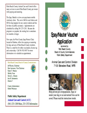 Palm Beach Acc Spaying Fill Online