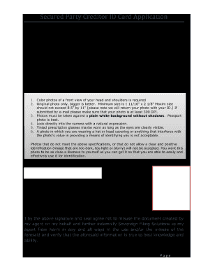 Secured Party Creditor Black Card Fill Online Printable Fillable Blank Pdffiller