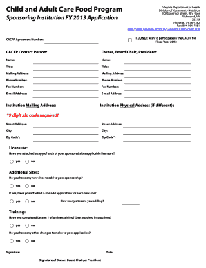 online employment application form template