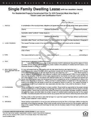 Bill Of Sale Form Massachusetts Residential Lease Agreement