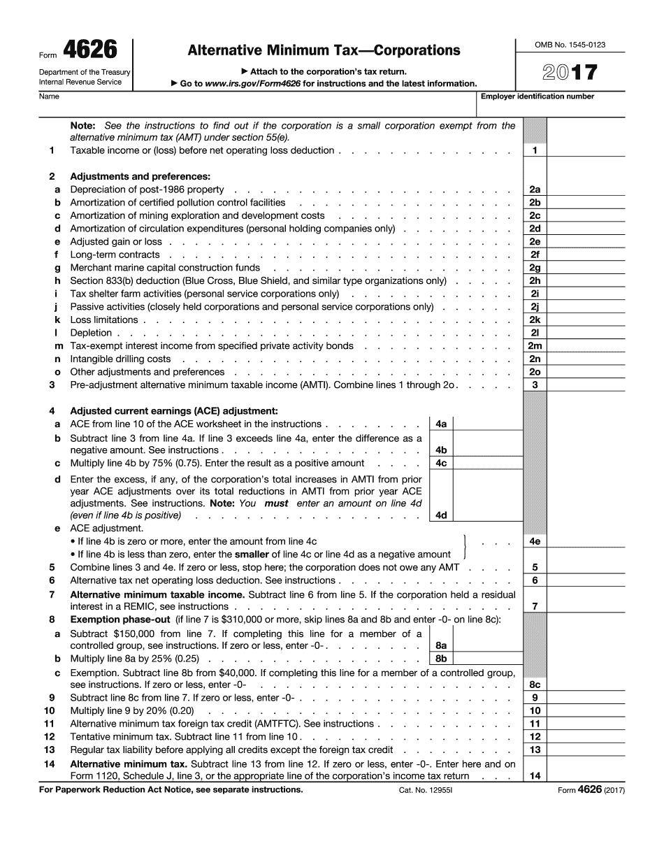alternative minimum tax 2021 corporations