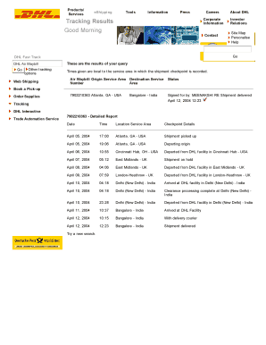 Editable dhl customs clearance delay - Fill Out Best Forms