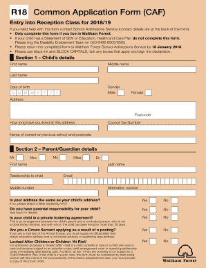 caf application online