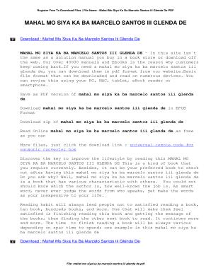 Crush mo crush pdf ka bakit ng hindi