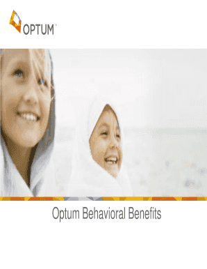Editable Optum Behavioral Health Provider Phone Number Fill Print