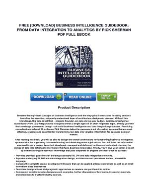 Fillable Online PDF Download Business Intelligence Guidebook