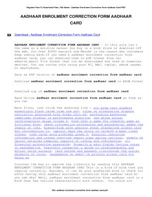 adhar card application form pdf لم يسبق له مثيل الصور + E-FRONTA.INFO