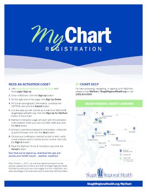 Fillable mychart novant login - Edit, Print & Download