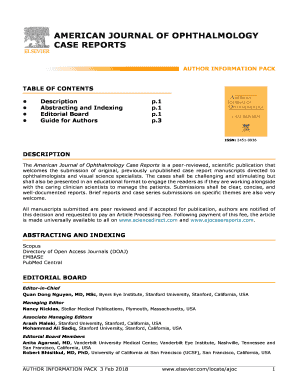 Editable case report journal free submission Form - Fill