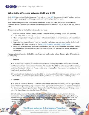 Printable oet nursing referral letter sample Samples to Submit