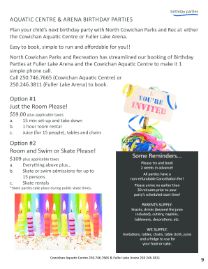 Printable Birthday Party Rsvp Reminder Wording Edit Fill Out