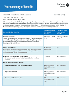 Submit anthem blue cross provider application form ...