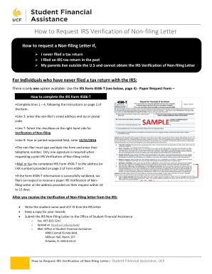Fillable Online How to request a Non-filing Letter if, Fax