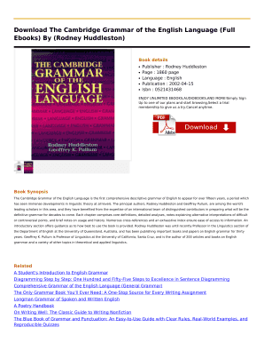 Cambridge grammar guide cambrige grammar guide array fillable online download the cambridge grammar of the english rh pdffiller com fandeluxe Gallery