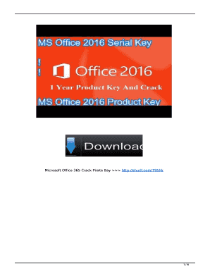 crack office 2016 - Edit, Print, Fill Out & Download Online