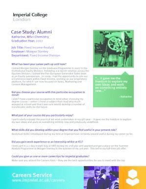 Editable morgan stanley career - Fill, Print & Download
