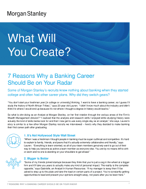Editable morgan stanley career - Fill, Print & Download