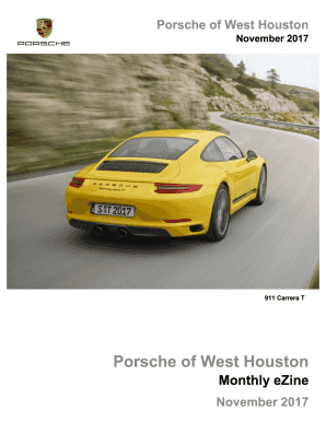 Porsche West Houston >> Fillable Online Porsche Of West Houston Fax Email Print