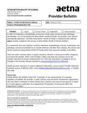 Fillable labcorp customer service phone number - Edit, Print