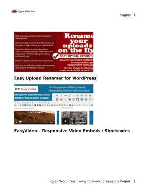 Submit wordpress ecommerce website proposal Online in PDF