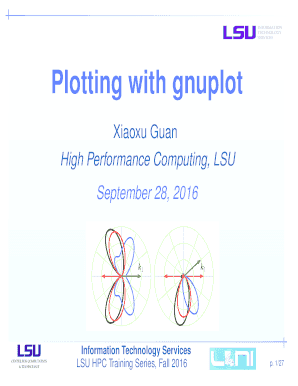 Plotting with gnuplot Fill Online, Printable, Fillable