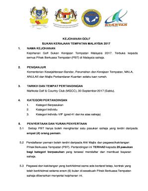 Majlis Perbandaran Kuantan Fill Online Printable Fillable Blank Pdffiller