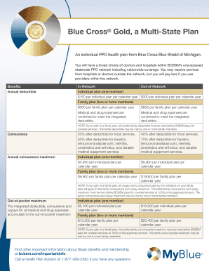 Submit blue shield ppo individual plans and Document ...