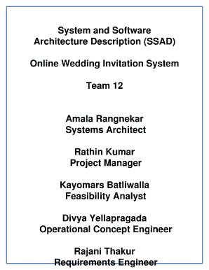 Architecture description ssad fill online printable fillable preview of sample stopboris Choice Image