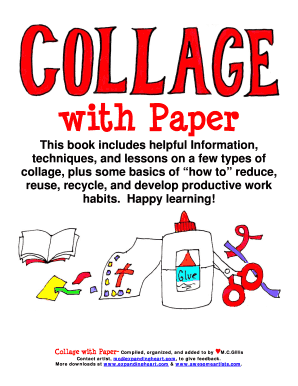 paper collage ideas for competition - Fillable & Printable