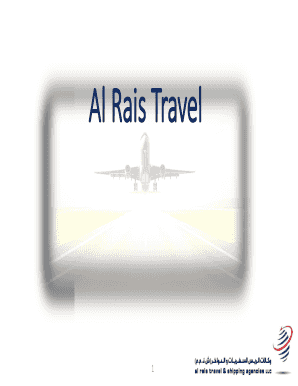 Submit travel and tourism powerpoint presentations PDF Form