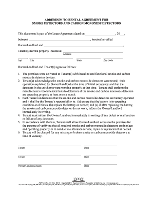 Submit Printable Smoke And Carbon Monoxide Detector