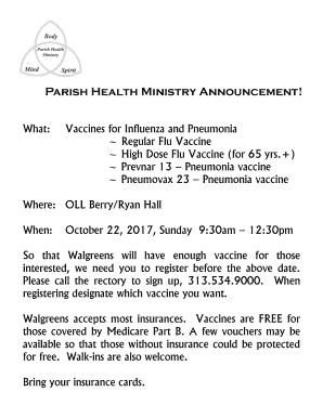 Fillable Prevnar 13 Vs Pneumovax 23 Templates To Submit Online In