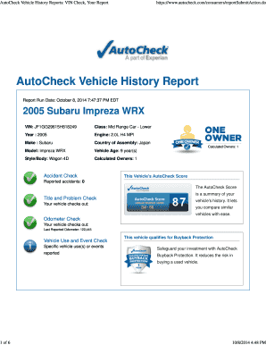 Editable autocheck hack 2017 Samples Online in PDF