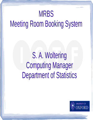 Free online meeting room booking system