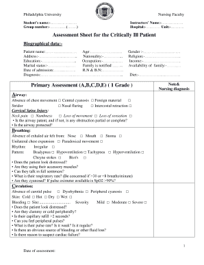 coldspa for cough - Fillable Form & Document Templates to