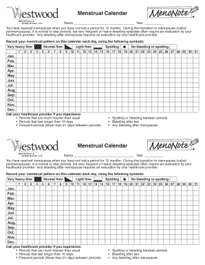 image regarding Menstrual Calendar Printable called Printable menstrual period of time calendar down load - Fill Out