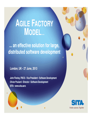 AGILE FACTORY Fill Online, Printable, Fillable, Blank