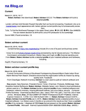 belarc advisor download - Fillable Form & Document Templates