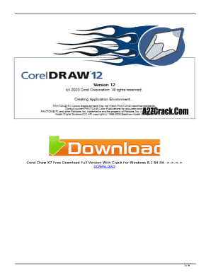 Fillable Online Corel Draw X7 Free Download Full Version