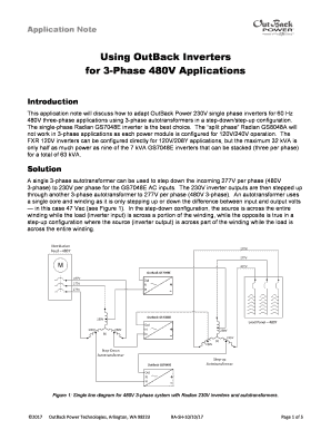 Fillable inverter transformer winding calculation Forms and