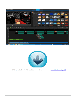 Fillable Online Corel Videostudio Pro X7 Full Crack Free